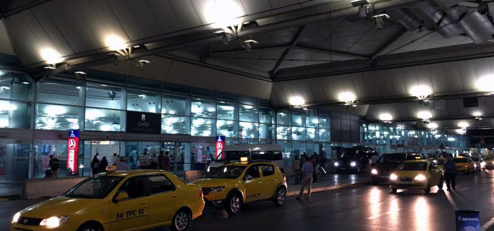 深夜便の前にサッパリ!イスタンブール空港のラウンジでシャワーを浴びる