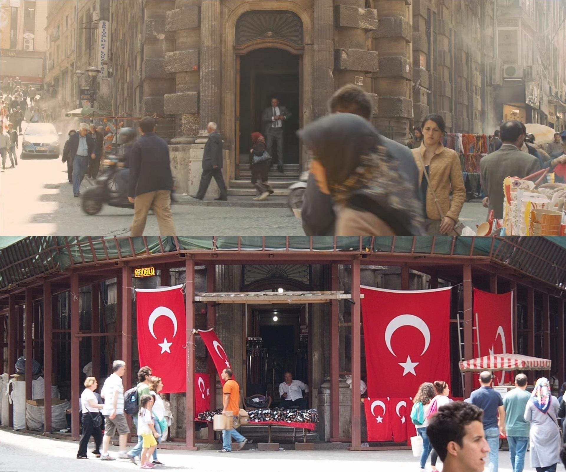 イスタンブールで007 Skyfallのロケ地巡り