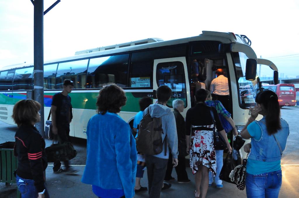 【日帰り・バス】ロシア・ウラジオストクからナホトカへの行き方